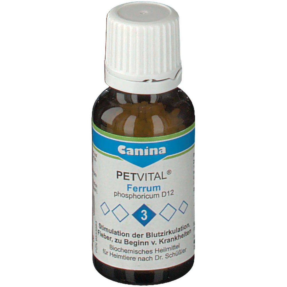 Canina® Petvital® ferrum phosphoricum D12 Nr.3