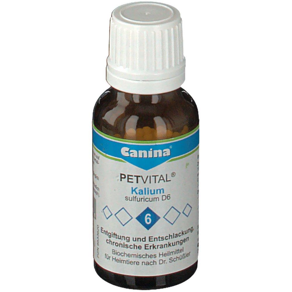 Canina® Petvital® Kalium sulfuricum D6 Nr.6