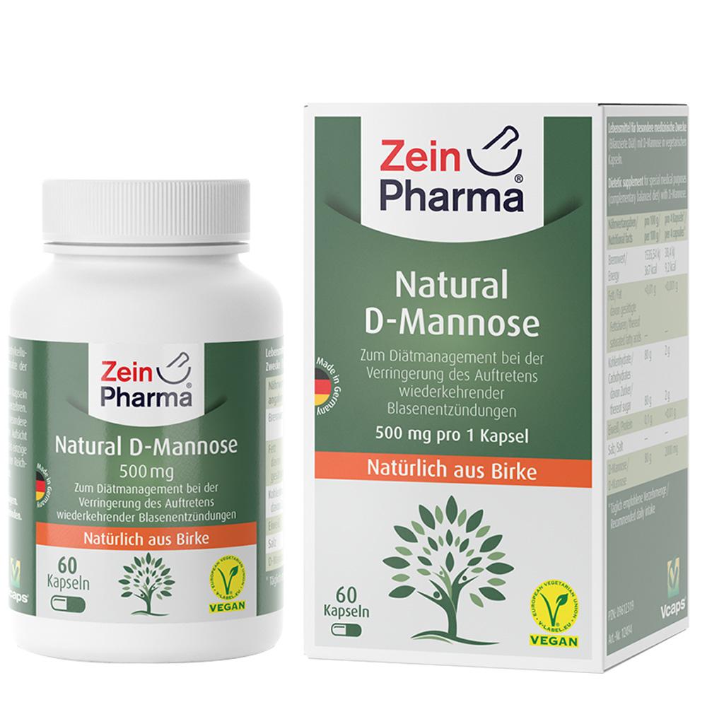 zeinpharma d mannose kapseln 500 mg shop. Black Bedroom Furniture Sets. Home Design Ideas