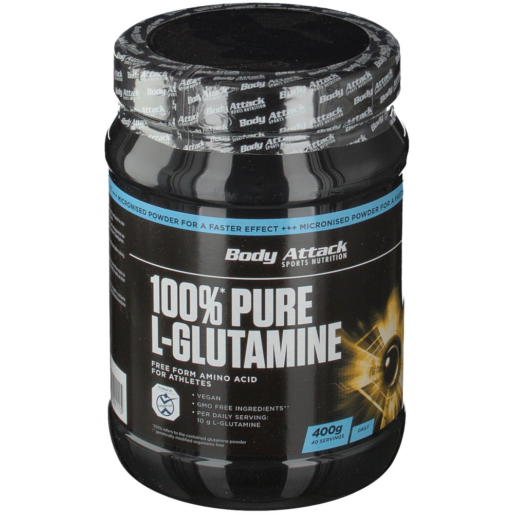 Body Attack 100% Pure L-Glutaminsäure