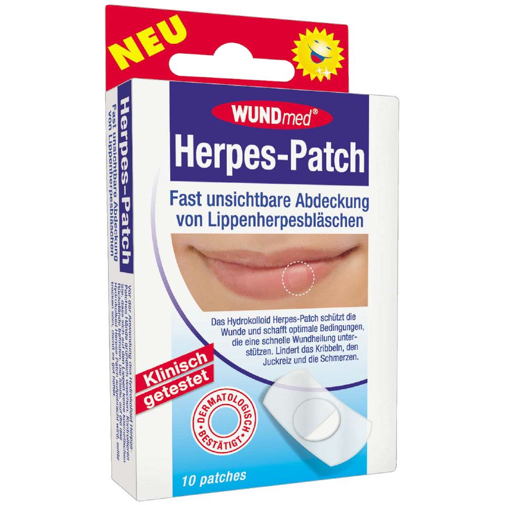 WUNDmed® Herpes-Patch