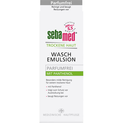 sebamed® Trockene Haut Waschemulsion Parfumfrei