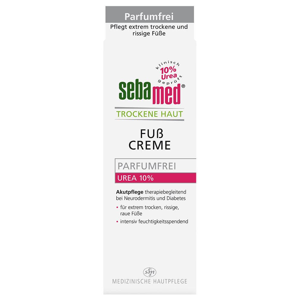 sebamed® Trockene Haut Fußcreme Parfumfrei Urea 10%