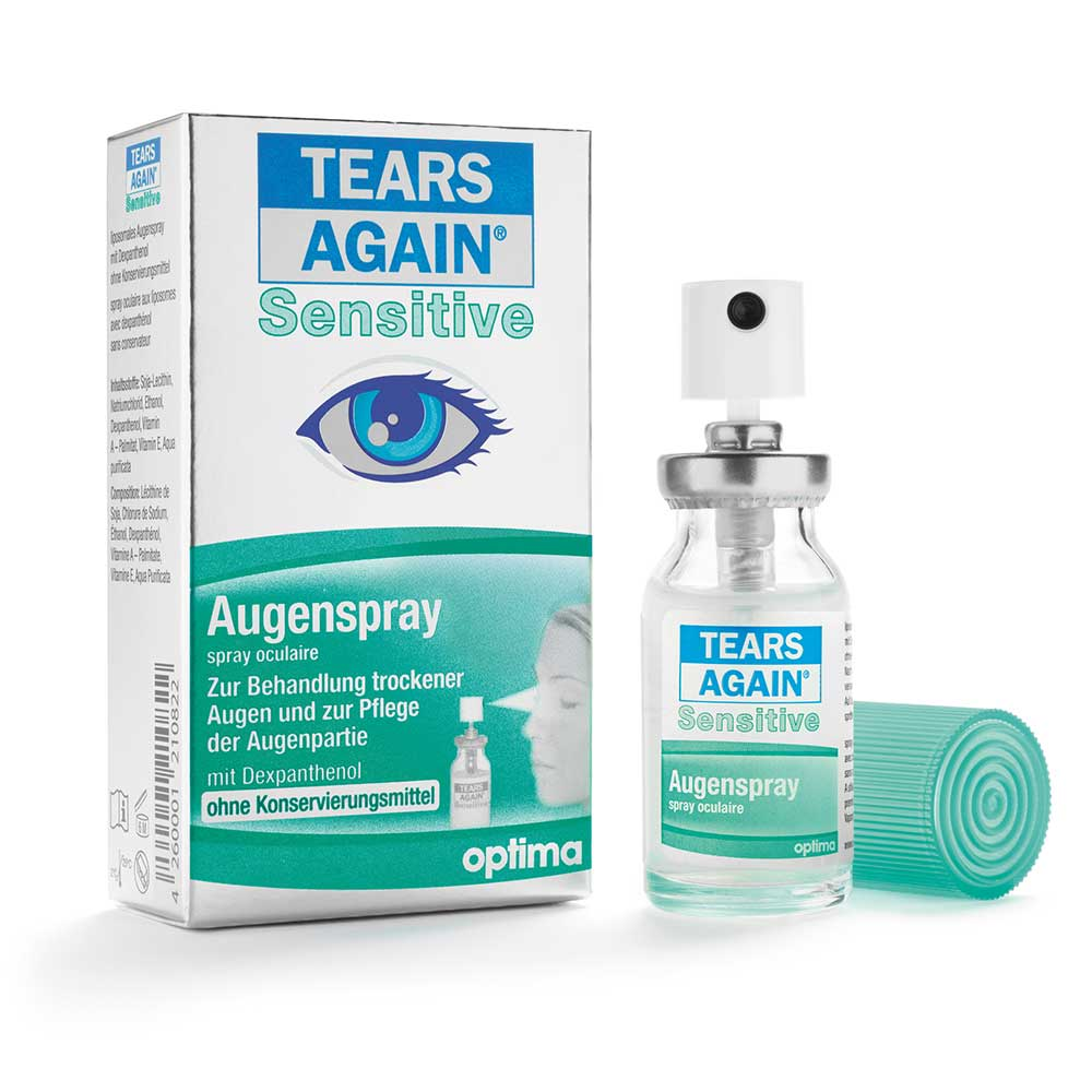 Tears Again® Sensitive liposomales Augenspray