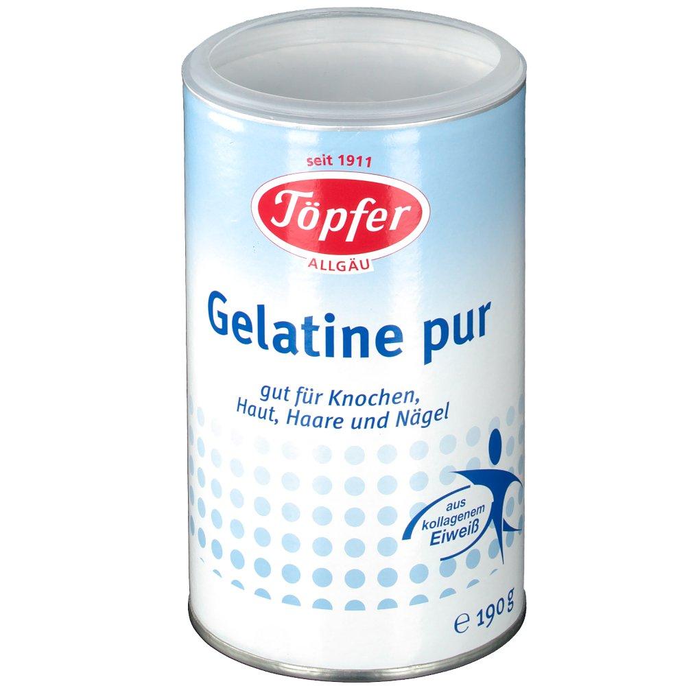 Töpfer Gelatine pur