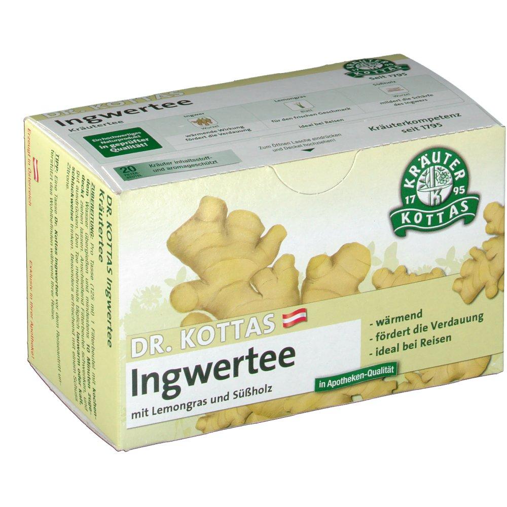 DR. Kottas Ingwertee mit Lemongras