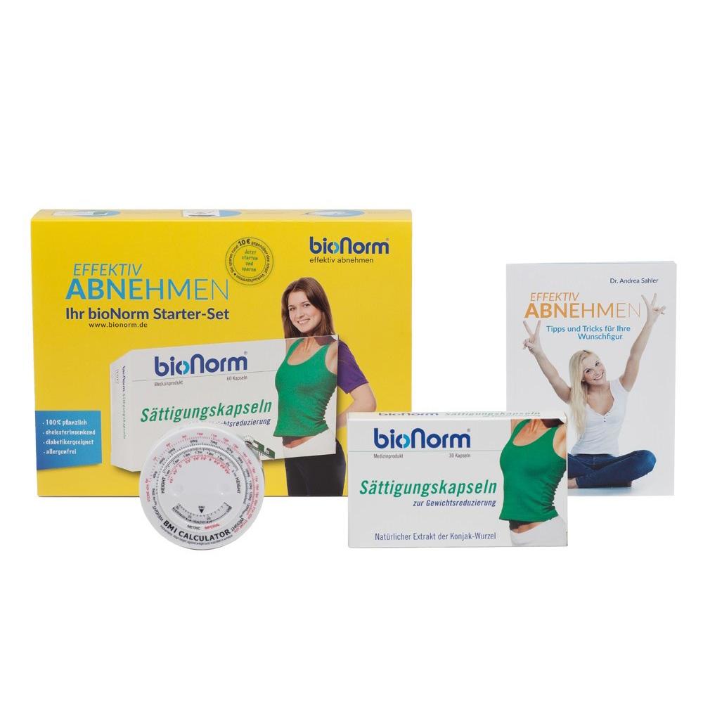 bioNorm® Sättigungskapseln Starter-set