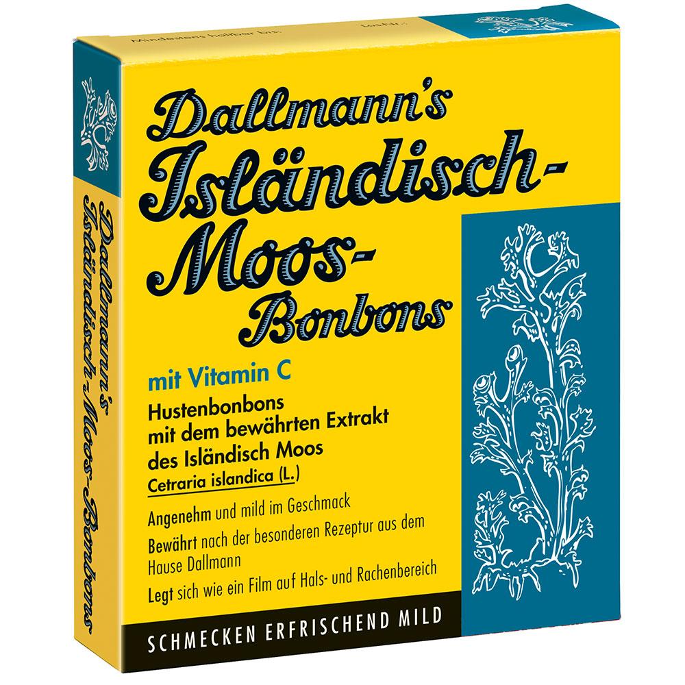Dallmann´s® Isländisch-Moos-Bonbons mit Vitamin C