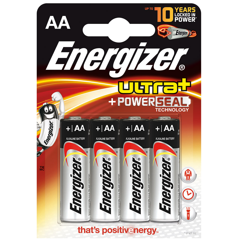 energizer ultra powerseal aa batterien shop. Black Bedroom Furniture Sets. Home Design Ideas