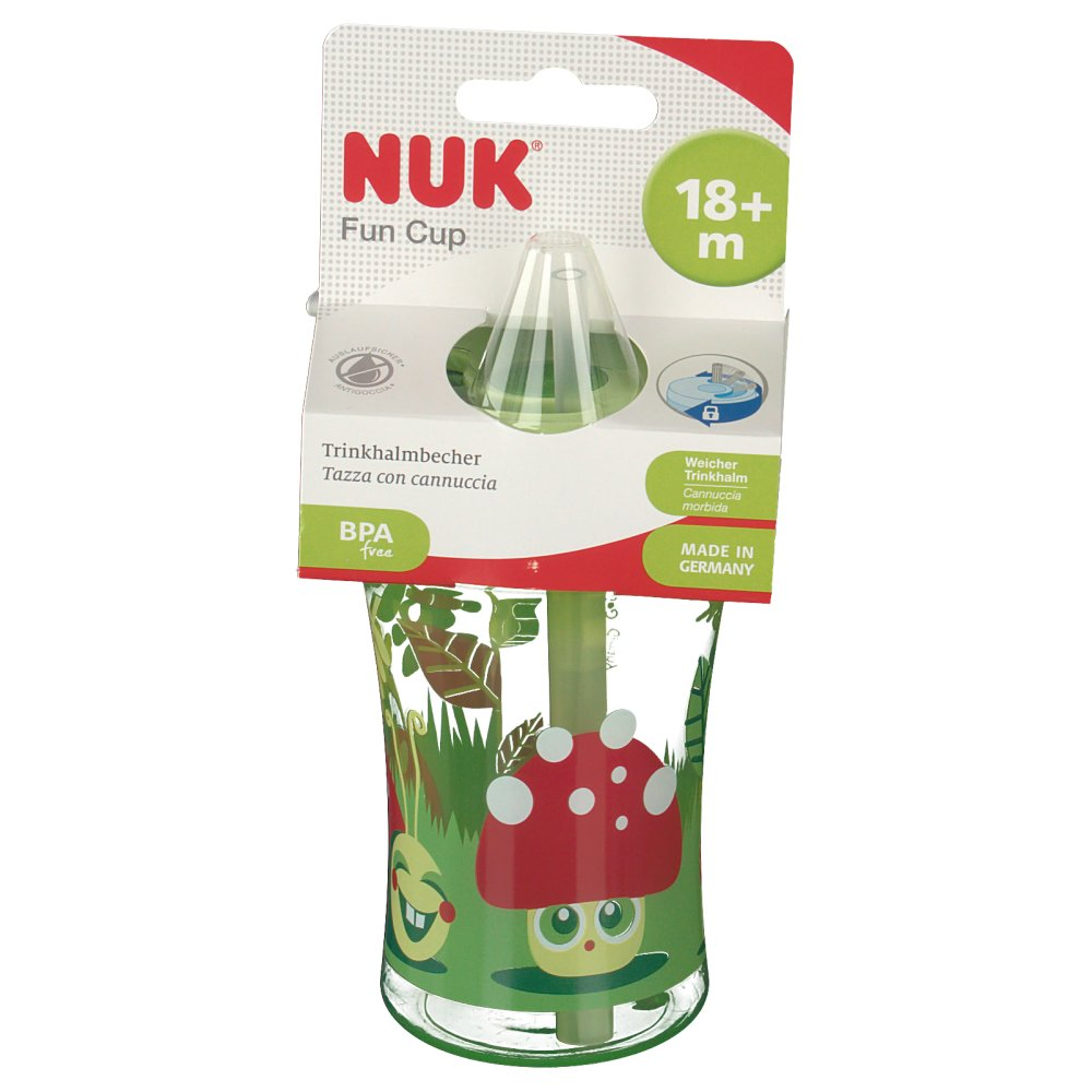 Nuk easy learning cup fun ml mit trinkhalm ab
