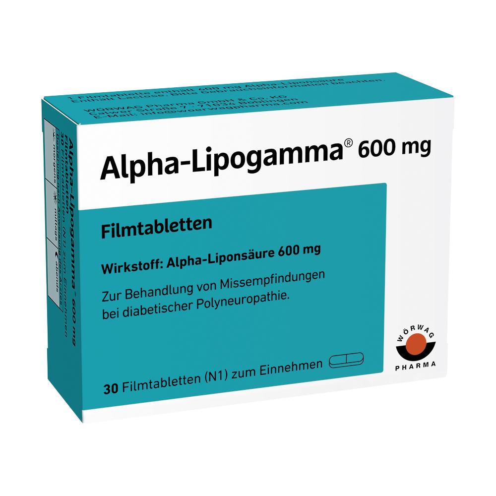 Alpha-Lipogamma® 600 Filmtabletten