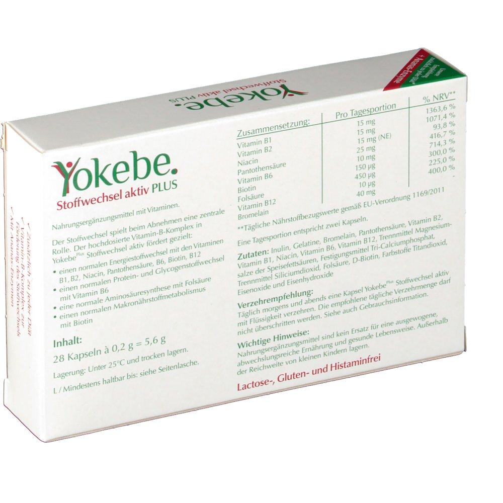 Yokebe Stoffwechsel aktiv PLUS - shop-apotheke.com