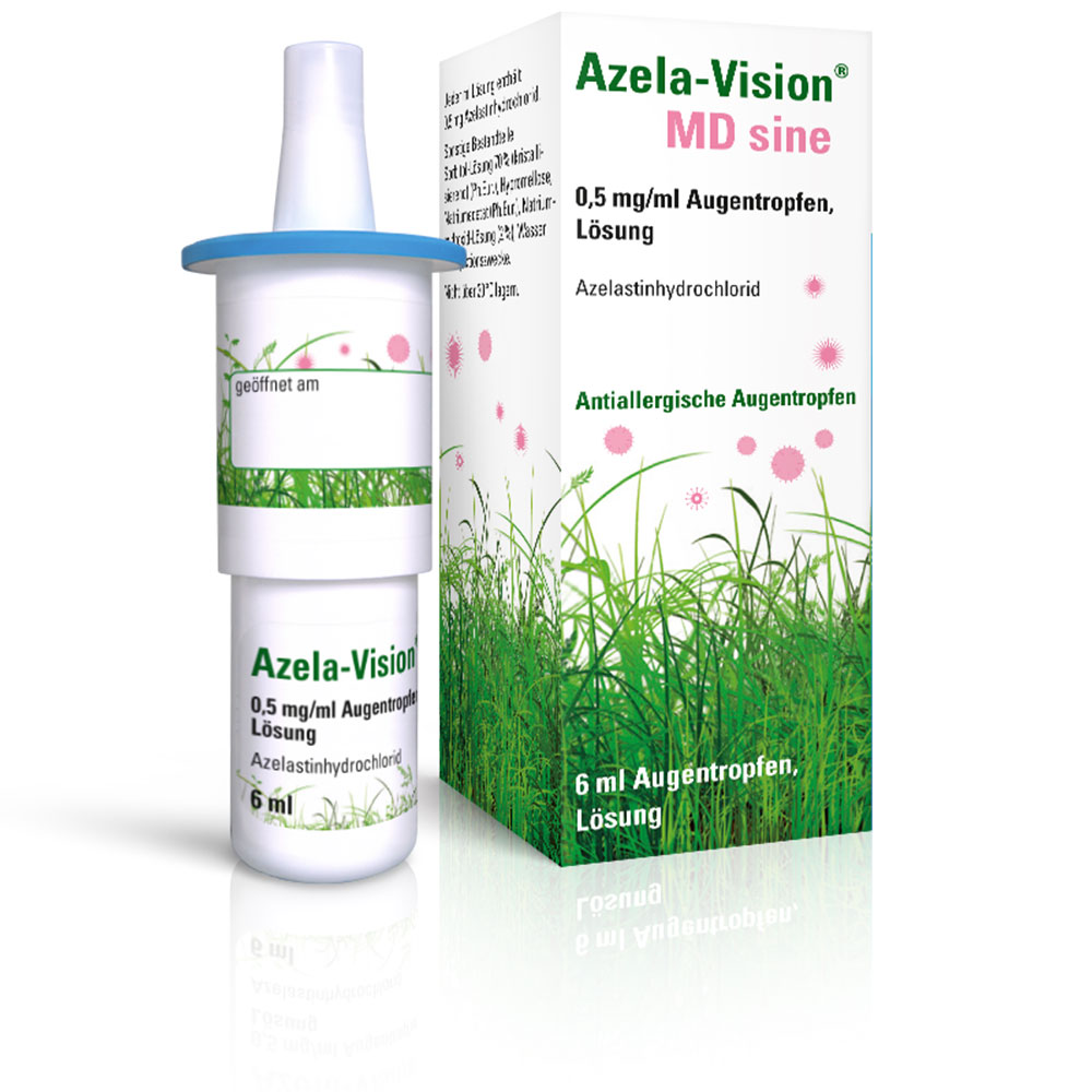 Azela-Vision® MD sine 0,5mg/ml Augentropfen - shop ...