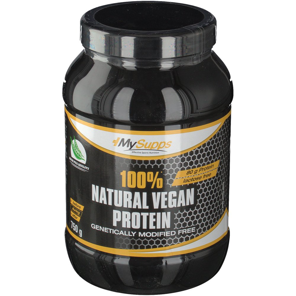 MySupps Natural Vegan Protein 100 %