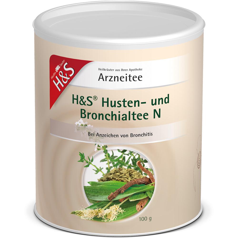 H&s® Husten- und Bronchialtee N loser Tee