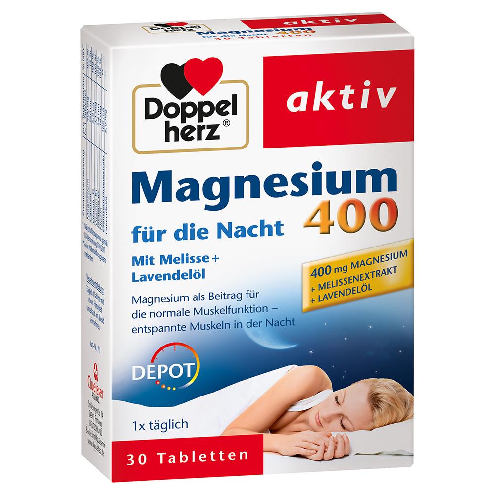 Doppelherz® Magnesium 400 für die Nacht