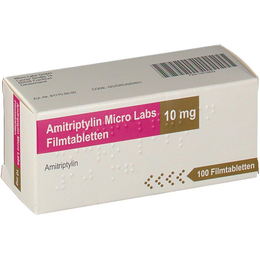 Amitriptylin Micro Labs Erfahrungen