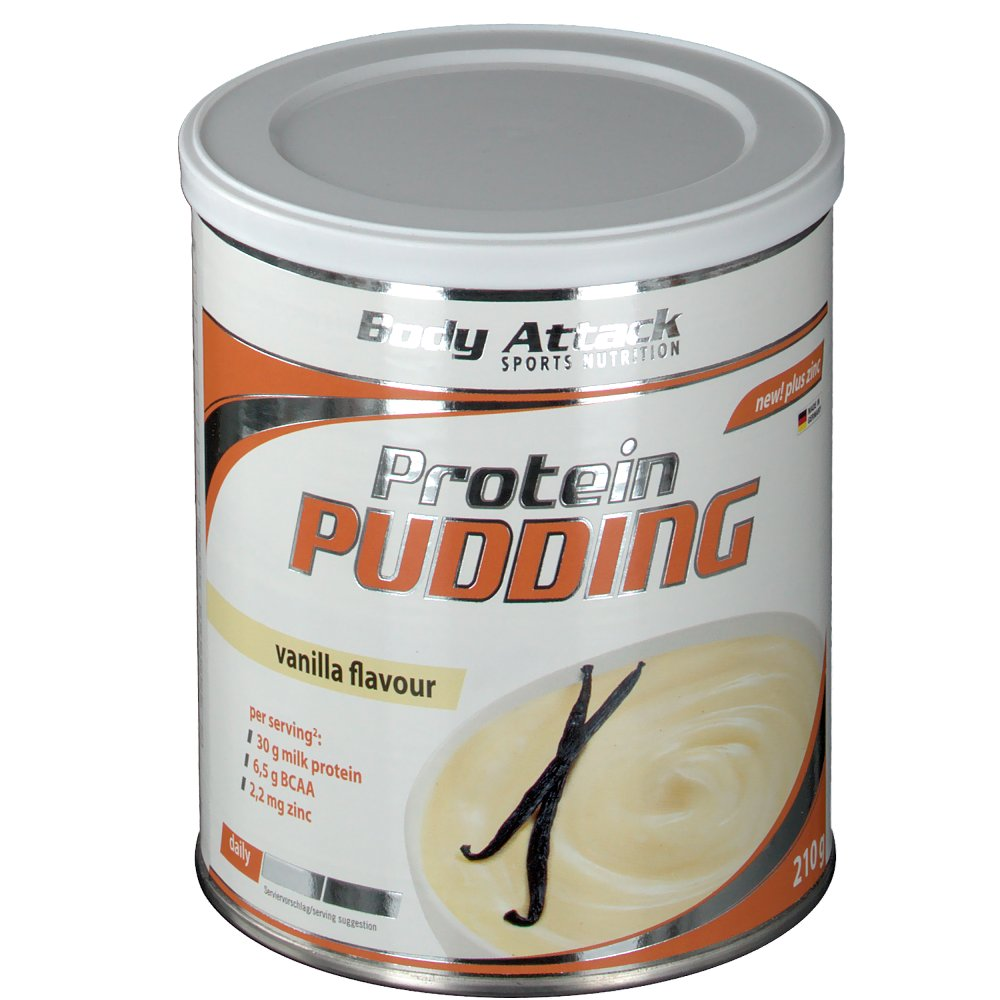 Body Attack Protein Pudding Vanille