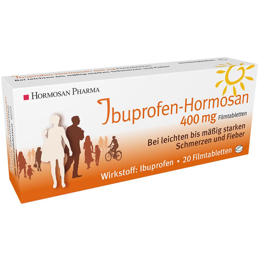 Ibuprofen-Hormosan 400 mg Filmtabletten - shop-apotheke.com