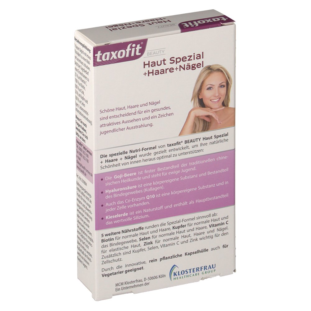 welche vitamine für haut und haare