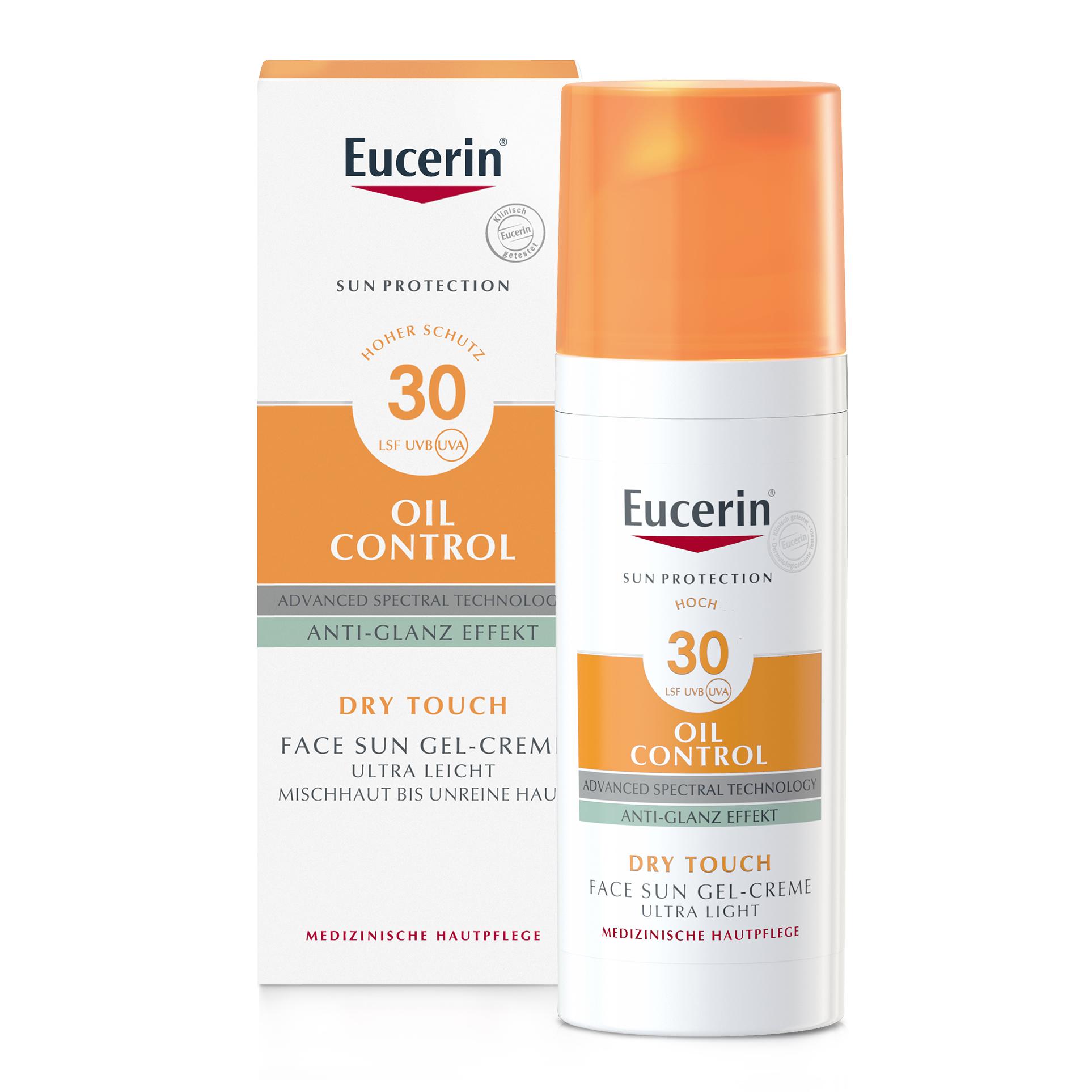 Eucerin® Oil Control Face Sun Gel-Creme LSF 30