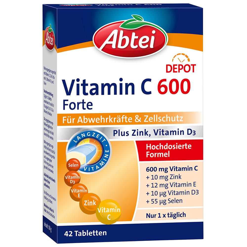 Abtei Vitamin C 600