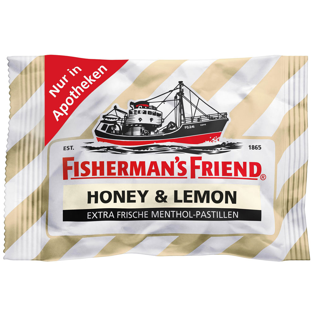 Fisherman'S Friend® Honey & Lemon ohne Zucker
