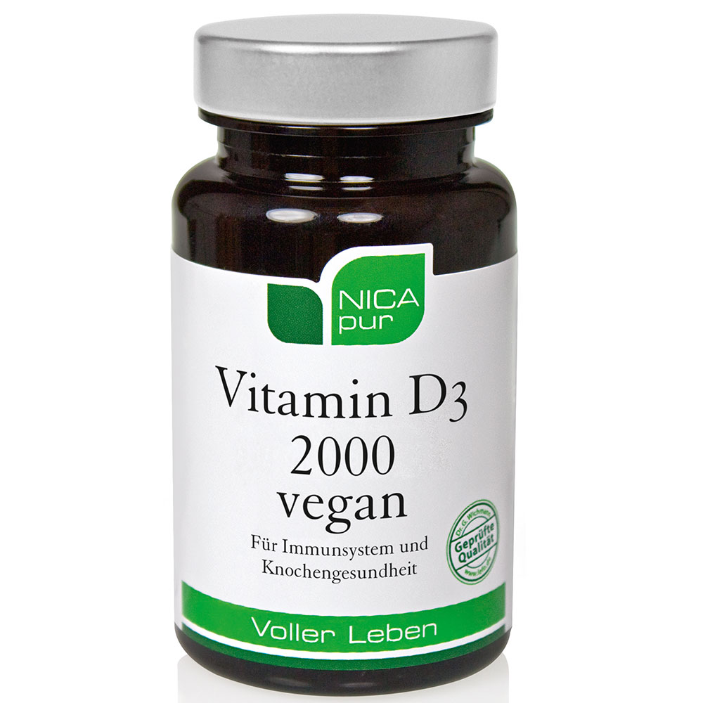 NICApur® Vitamin D3 2000 vegan
