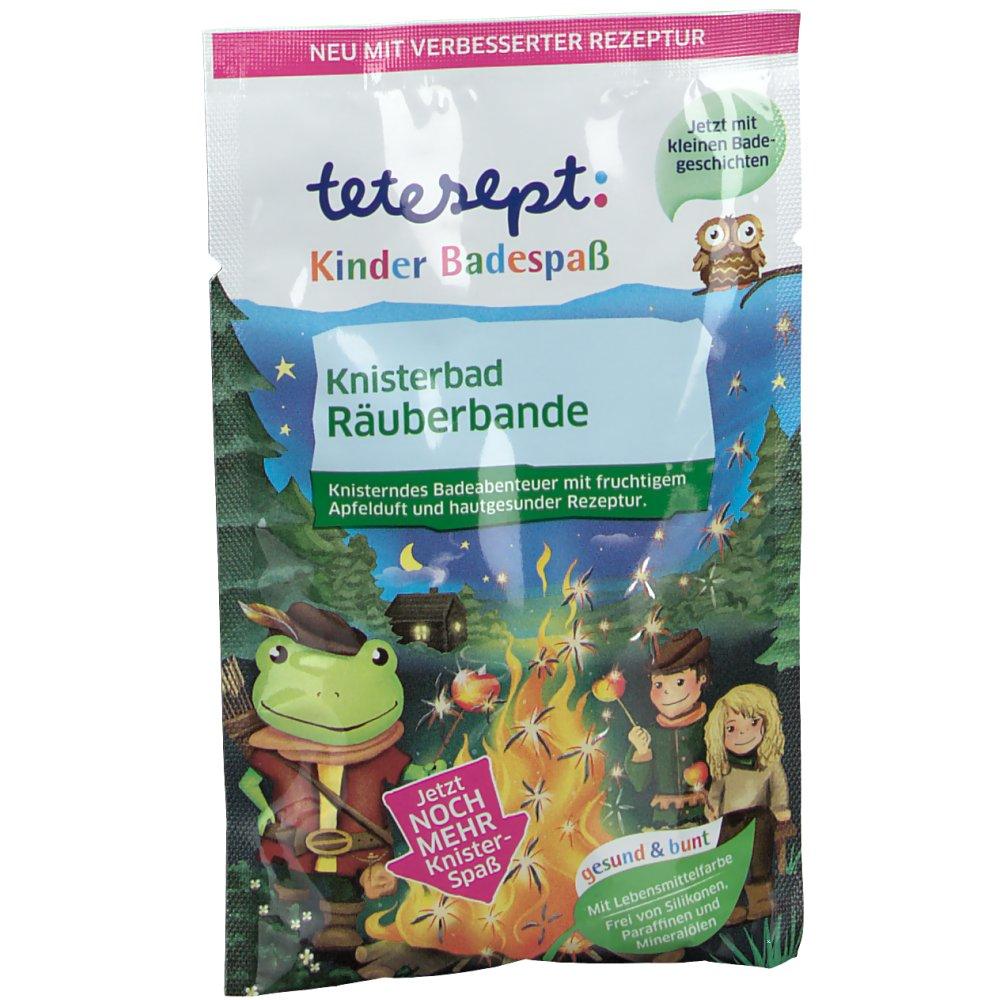 tetesept® Kinder Badespaß Knisterbad Räuberbande