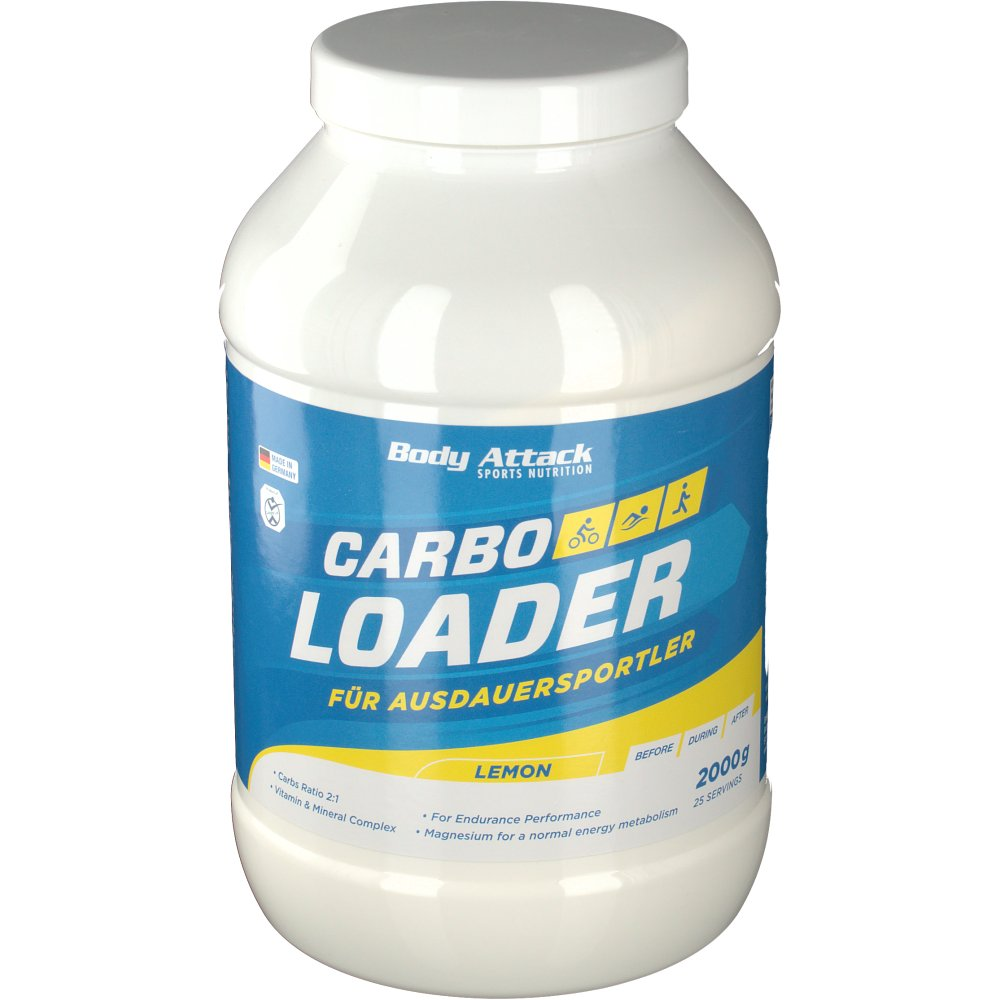 Body Attack Carbo Loader lemon