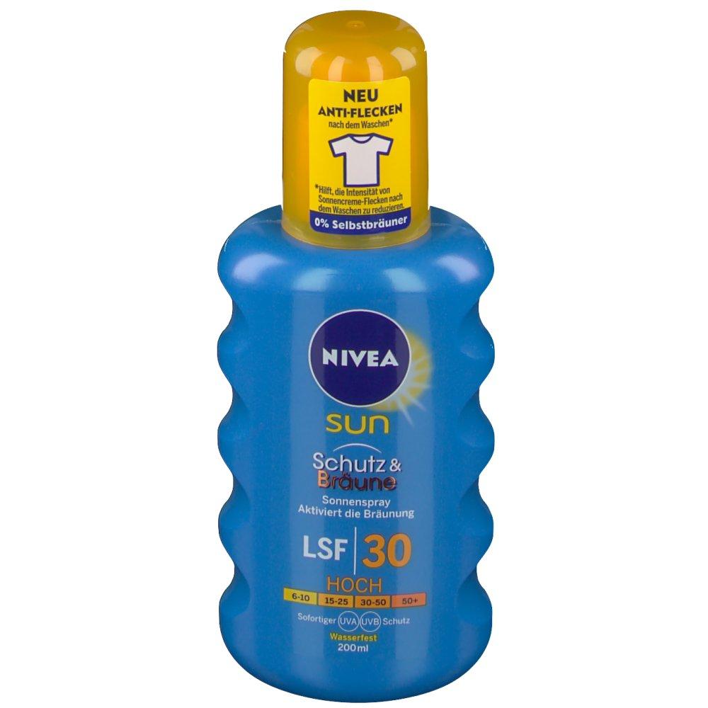 Nivea® SUN protect & bronze Sonnenspray LSF 30