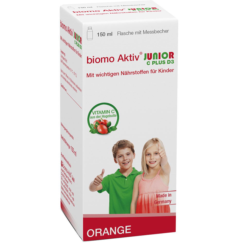 biomo Aktiv® Junior C plus D3