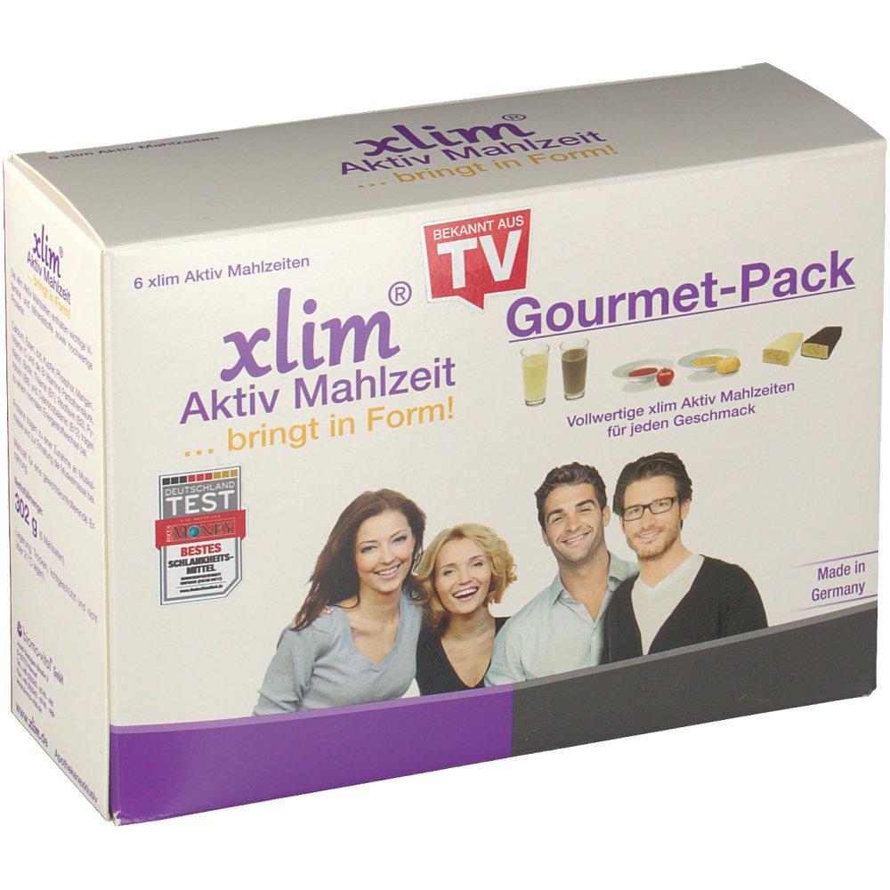 xlim® Aktiv Mahlzeit Gourmet-Pack