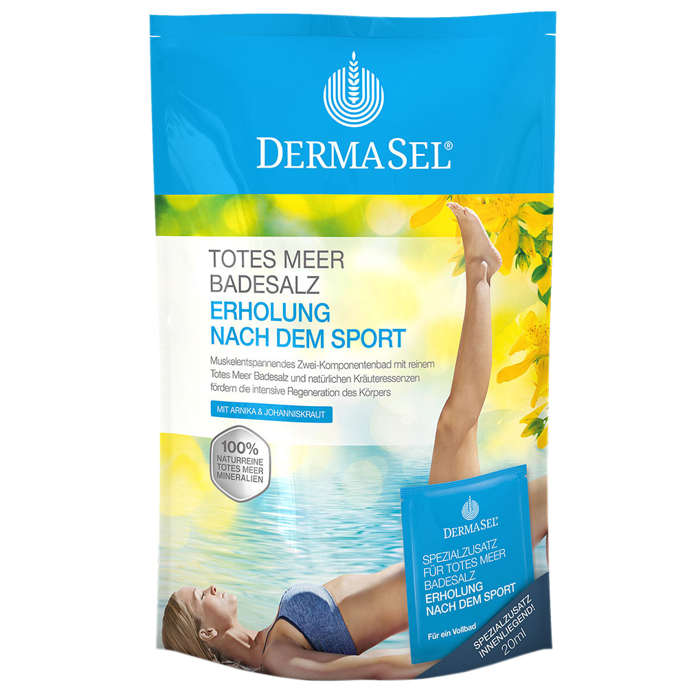 Dermasel® Totes Meer Badesalz + Sport Limited E...