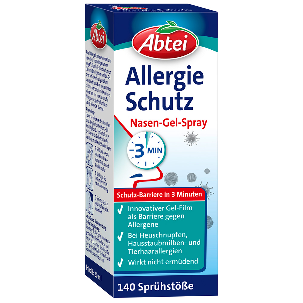 Abtei Allergie Schutz Nasen-Gel-Spray 20 ml Spray