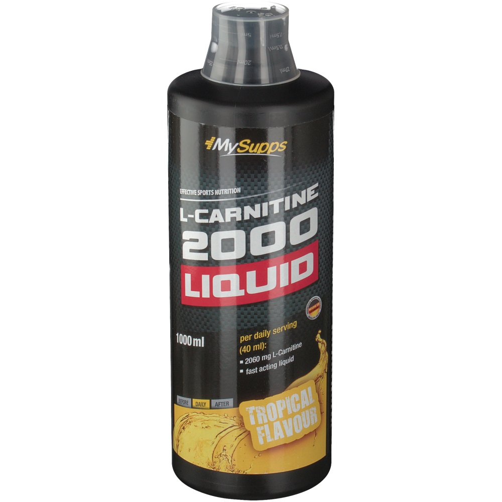 MySupps L-Carnitine 2000 Liquid Tropical