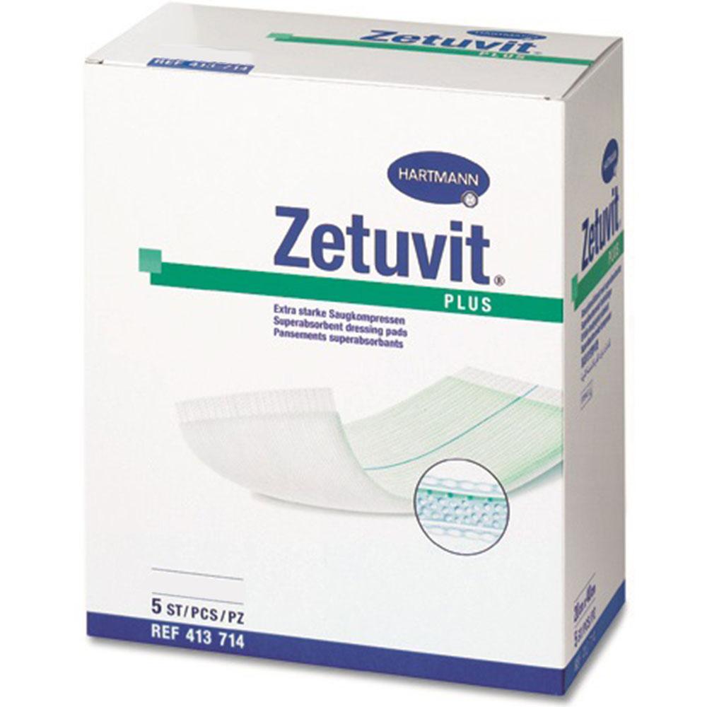 Zetuvit® Plus extrastarke Saugkompresse 15x20 cm - shop-apotheke.com