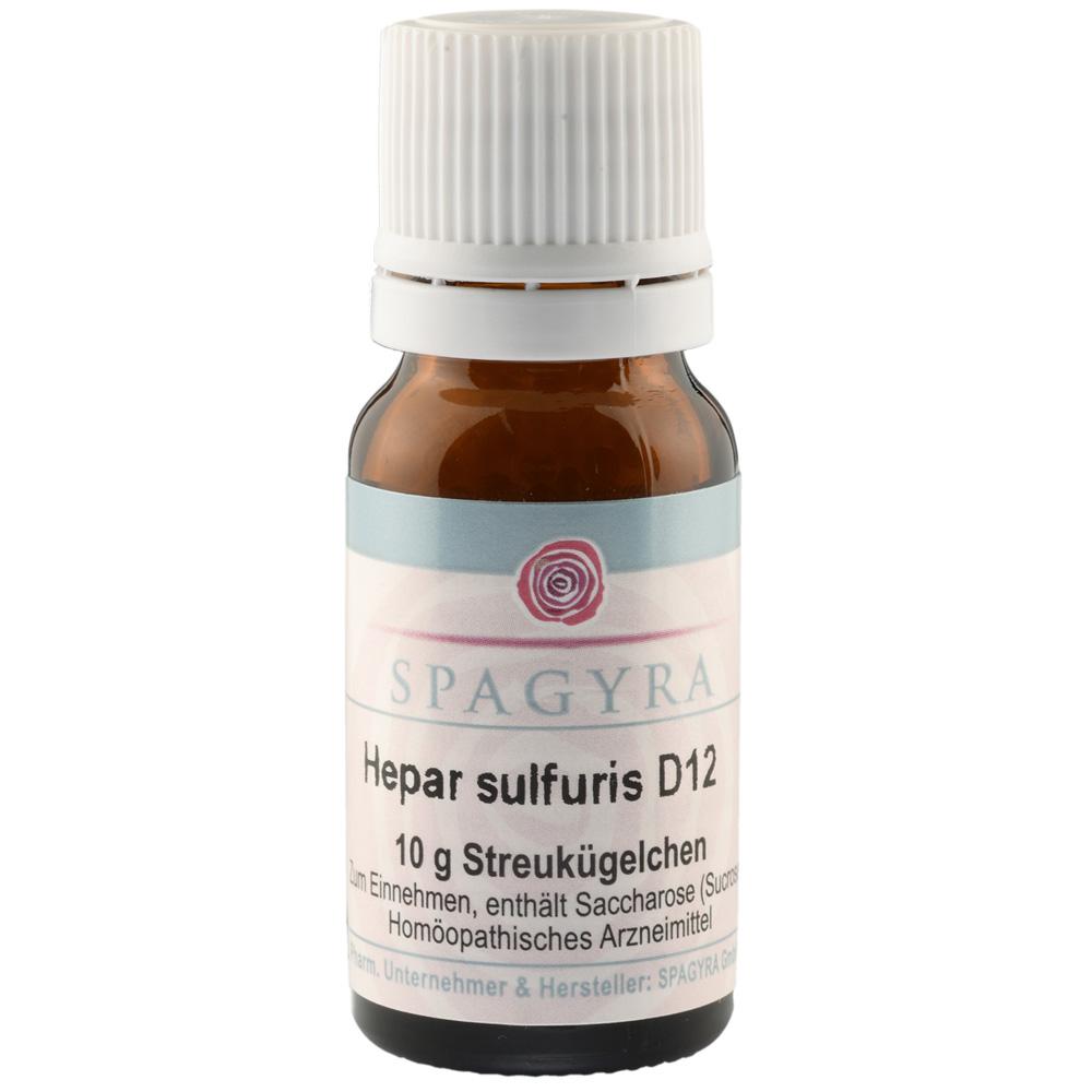 Spagyra Hepar sulfuris D12