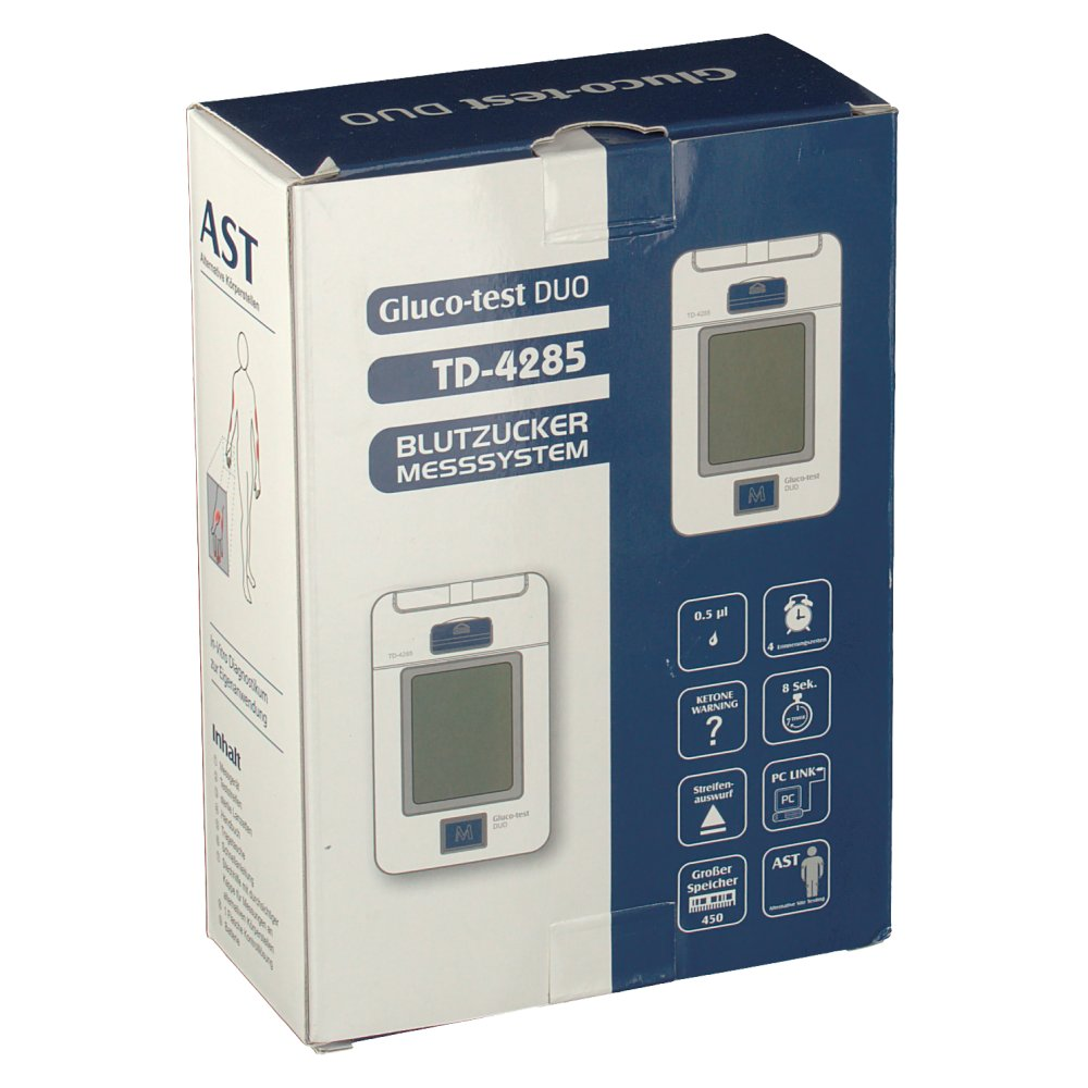 Gluco-test DUO Td-4285 Starterset mmol/l