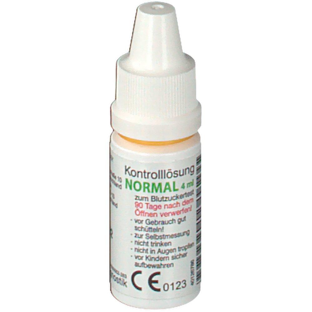 Gluco-test® DUO Kontrolllösung normal