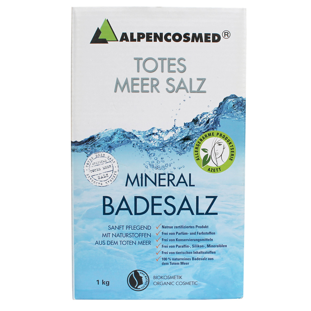 Alpencosmed® Totes Meer Mineral Badesalz