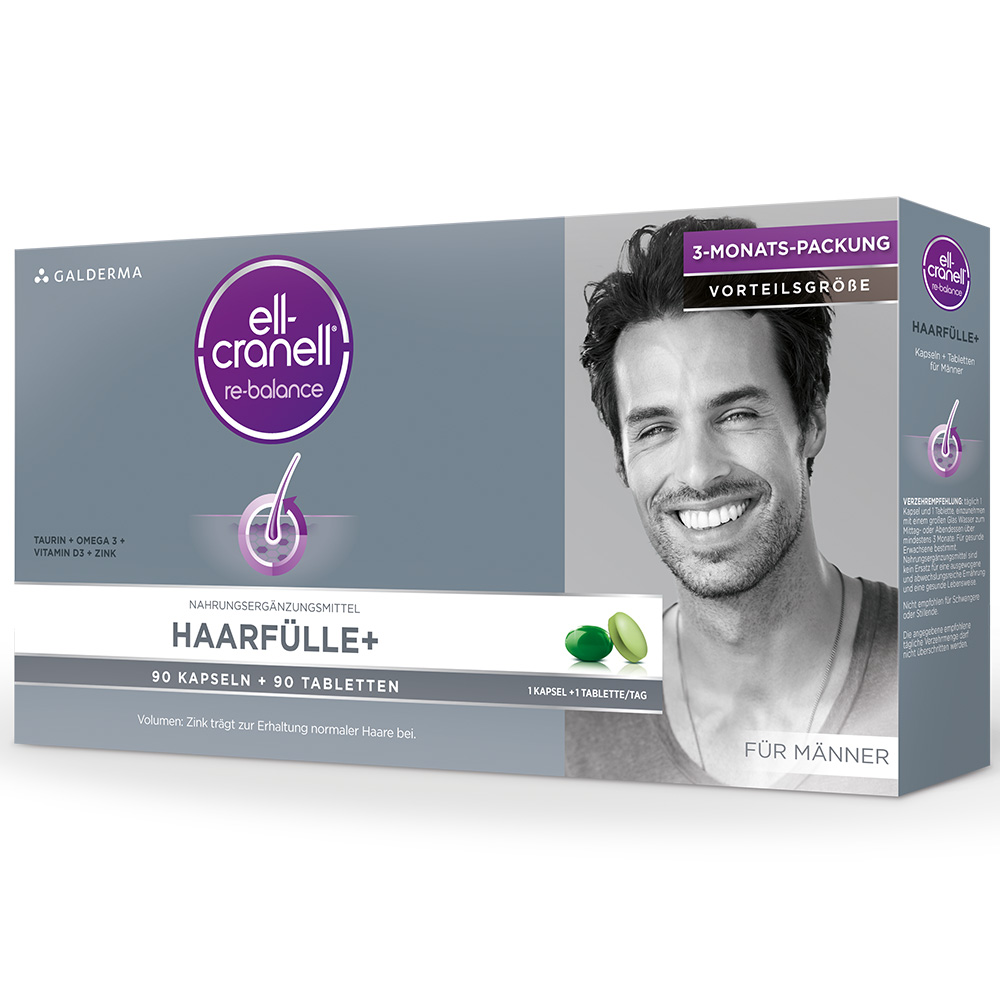 Ell-Cranell® Haarfülle+ Für Männer Tabletten/Kapseln