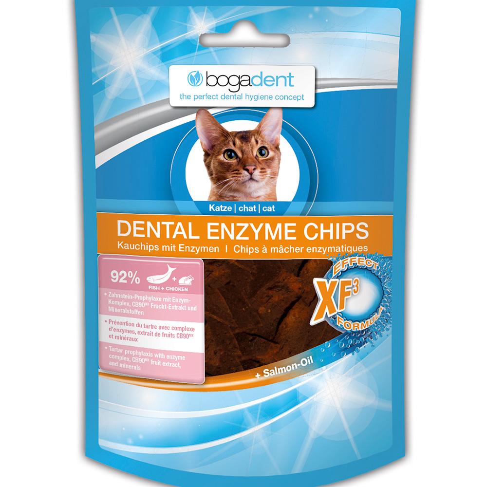 bogadent dental enzyme chips fisch f r katzen shop. Black Bedroom Furniture Sets. Home Design Ideas