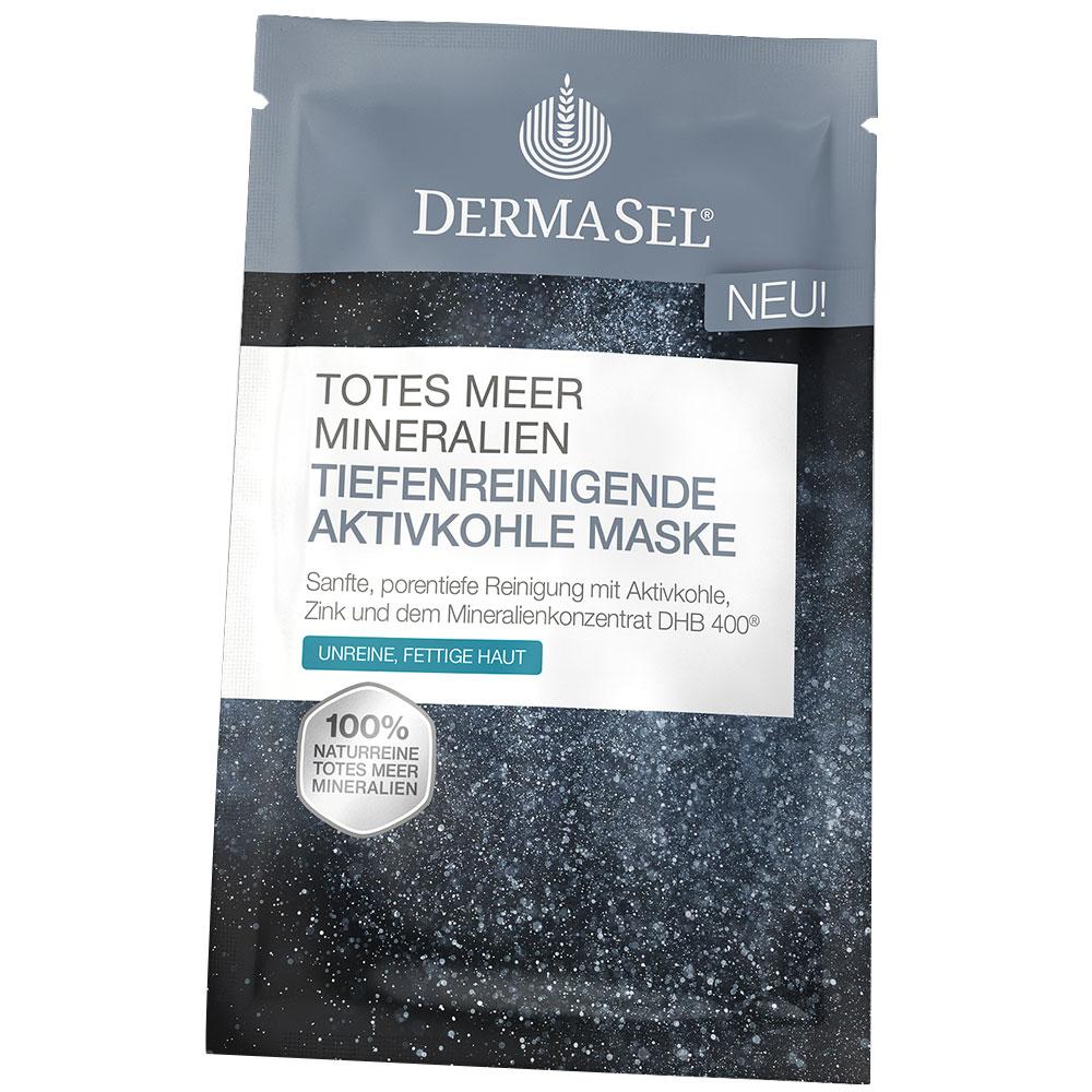 Dermasel® Tiefenreinigende Aktivkohlemaske