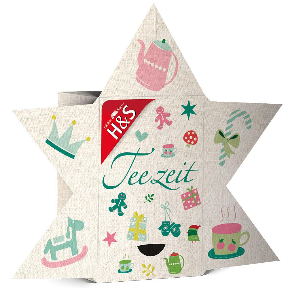 H&s® Adventskalender Teezeit