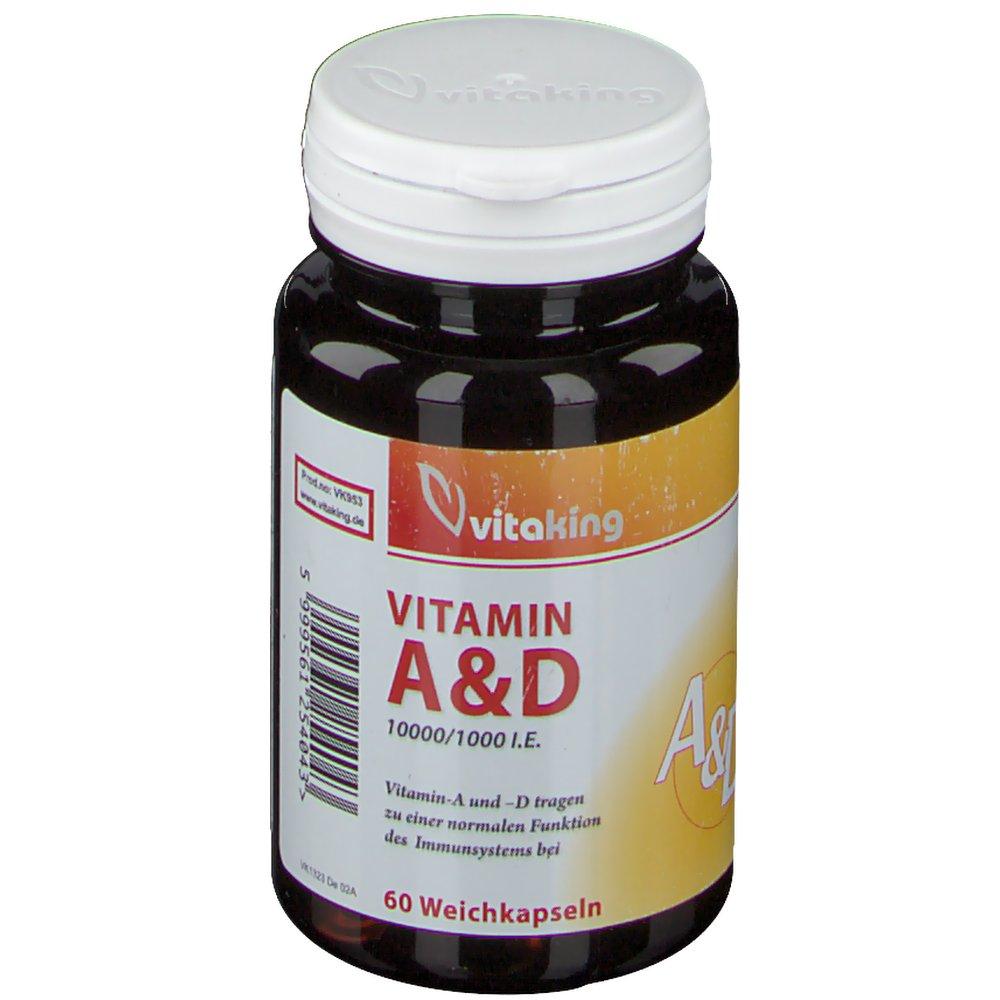 vitaking Vitamin A&D 10.000/1.000 I.e.