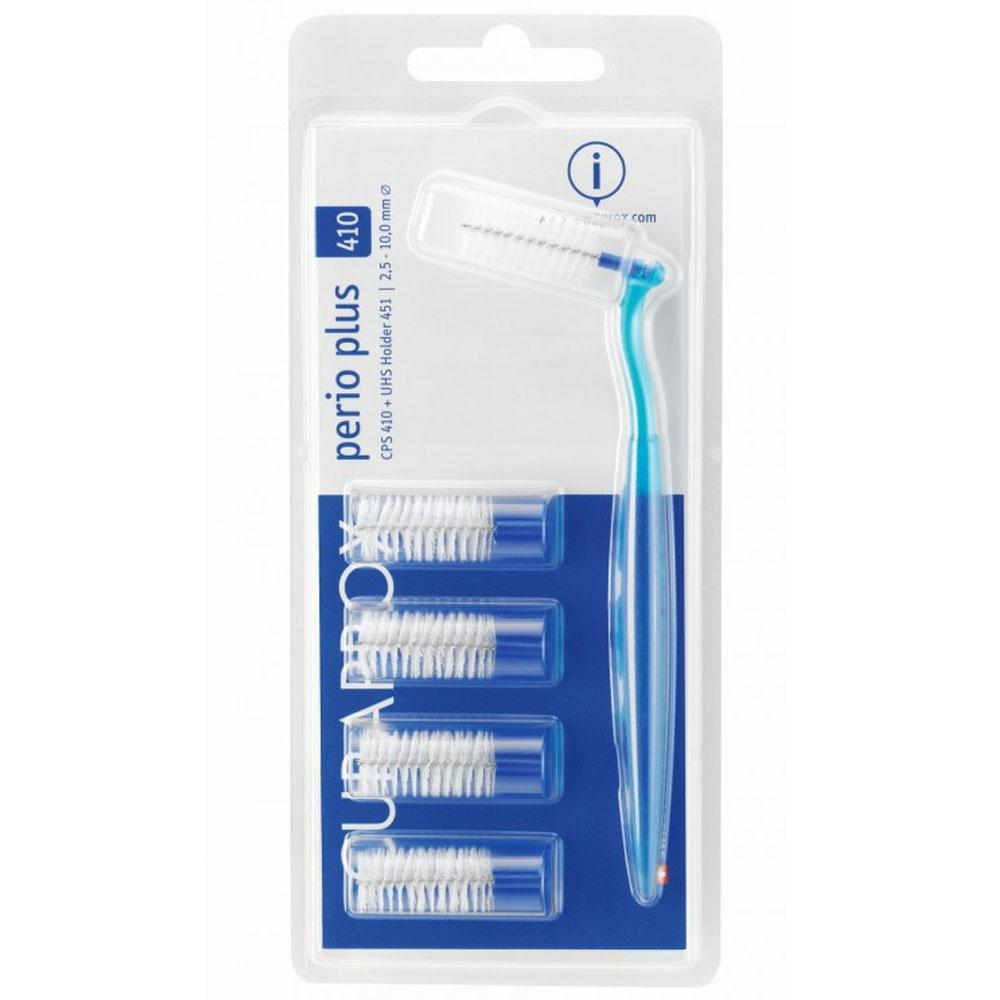 Curaprox® CPS Perio Plus 410 2,5-10 mm + UHS Halter 451