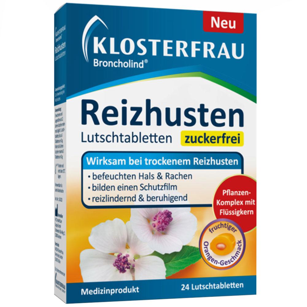 Klosterfrau Broncholind® Reizhusten Lutschtabletten zuckerfrei