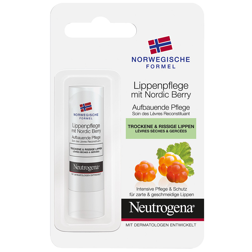 Neutrogena® Lippenpflege mit Nordic Berry