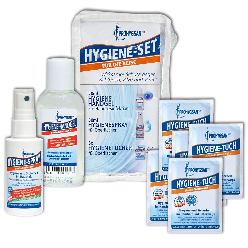 Prohygsan Reise Hygieneset